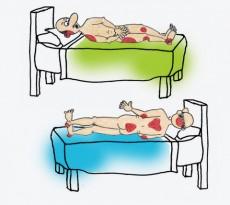 Las úlceras por presión se originan en zonas donde la piel y el hueso están cerca